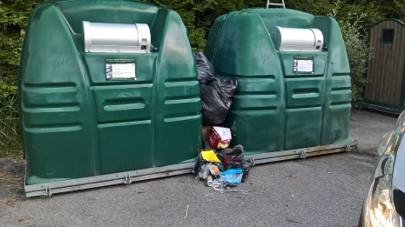 Le dépôt sauvage de déchets est interdit