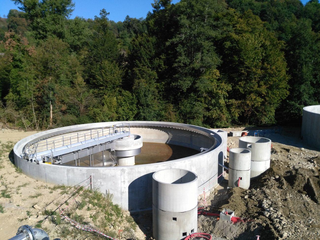 Construction de la nouvelle station d'épuration de la CCLA – Dernière ligne droite