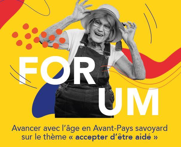 Forum «Avancer avec l'âge en Avant Pays-Savoyard»
