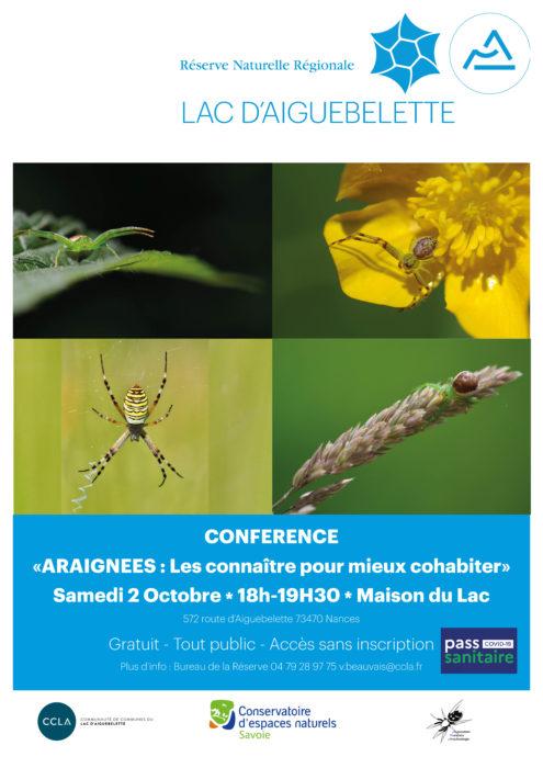 Conférence sur les araignées